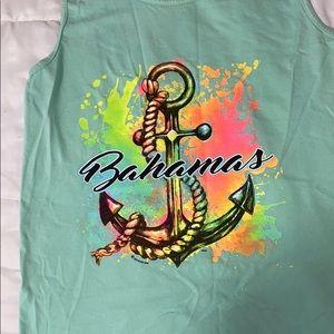 Bahamas anchor muscle tee :)